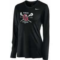 Glencoe Lacrosse 15: Nike Women's Legend Long-Sleeve Training Top - Black
